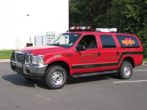 2004 Ford Excursion Command Vehicle.